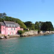 France golfe du morbihan maison rose 1